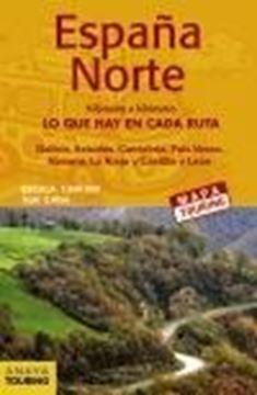 Mapa de carreteras España Norte 1:340.000 -  (desplegable), 2021