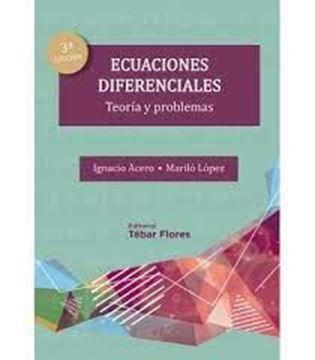 """Imagen de Ecuaciones diferenciales """"Teoría y problemas"""""""
