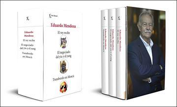"""Estuche """"Las tres leyes del Movimiento"""" """"El rey recibe. El negociado del yin y el yang. Transbordo en Moscú"""""""