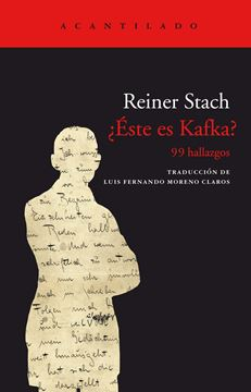 "¿Éste es Kafka? ""99 hallazgos"""