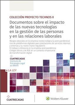 """Documentos sobre el impacto de las nuevas tecnologías en la gestión de las personas y en las relaciones """"laborales"""""""