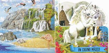 """Unicornios """"Descubre con siluetas el mundo"""""""