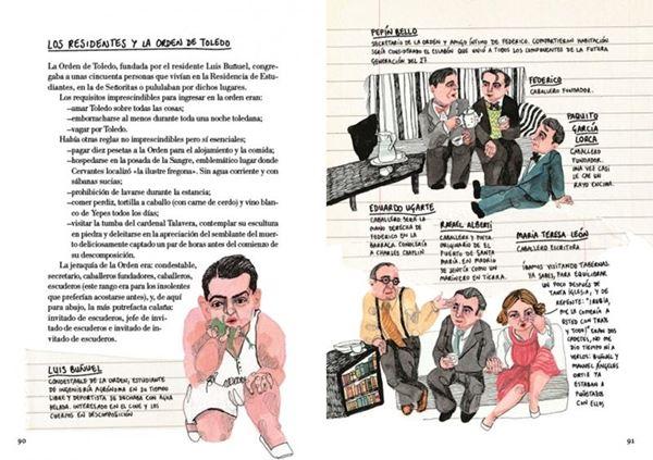 """Federico (novela gráfica) """"Vida de Federico García Lorca"""""""