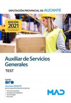 Test Auxiliar de Servicios Generales de Diputación de Alicante, 2021