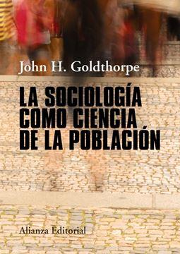 Sociología como ciencia de la población, La