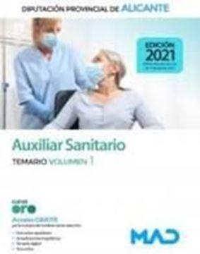 Imagen de Temario Volumen 1 Auxiliar Sanitario de la Diputación Provincial de Alicante