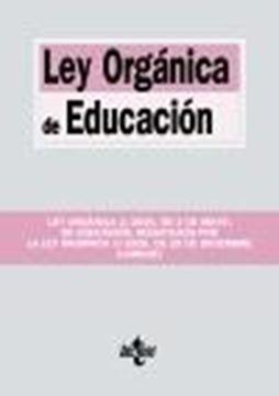 """Ley Orgánica de Educación, 2021 """"Ley Orgánica 2/2006, de 3 de mayo, de Educación, modificada por la Ley O"""""""