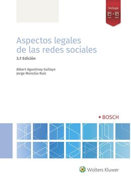 Aspectos legales de las redes sociales (3.ª Edición), 2021