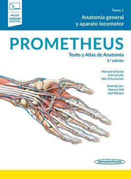 """PROMETHEUS:Texto y Atlas Anatomía, 5ª ed, 2021 """"Pack 3 tomos"""""""