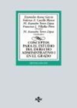 Conceptos para el estudio del Derecho administrativo I en el grado, 7ª ed, 2021