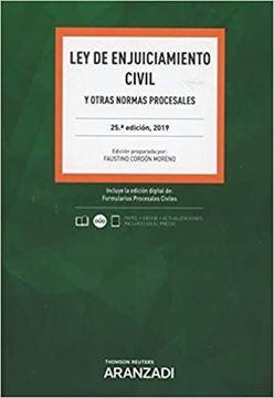 """Imagen de Ley de Enjuiciamiento Civil, 27ª ed, 2021 """"y otras normas procesales"""""""