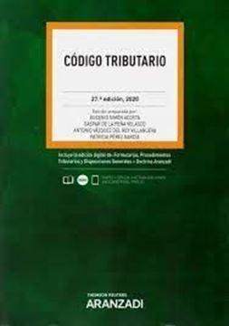 Imagen de Código Tributario, 28ª ed, 2021
