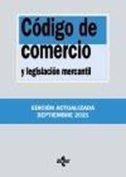 Código de Comercio y legislación mercantil, 38ª ed, 2021