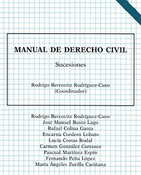 Imagen de Manual de Derecho Civil. Sucesiones, 5ª ed, 2021
