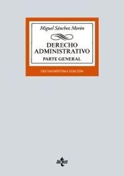 """Imagen de Derecho Administrativo, 17ª ed, 2021 """"Parte general"""""""