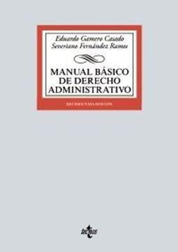 Imagen de Manual básico de Derecho Administrativo, 18ª ed, 2021