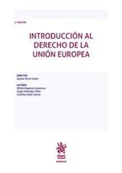 Imagen de Introducción al derecho de la Unión Europea, 2ª ed, 2021