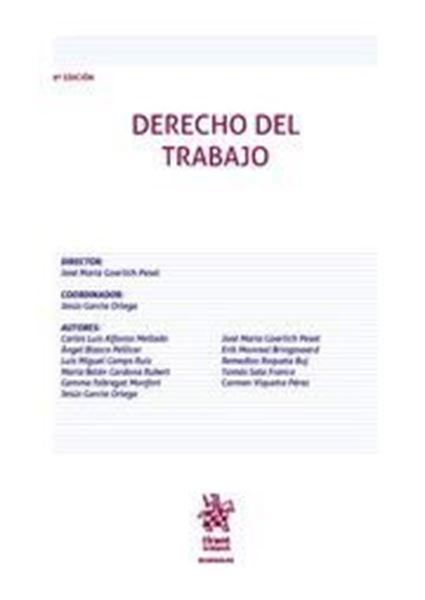 Imagen de Derecho del Trabajo, 9ª ed, 2021