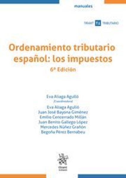 Imagen de Ordenamiento tributario español: los impuestos, 6ª ed, 2021
