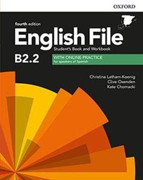 English File 4th Edition B2.2. Student's Book and Workbook with Key Pack