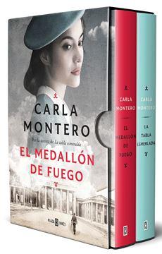 Pack Carla Montero con: El medallón de fuego. La tabla esmeralda